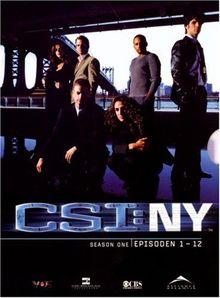 CSI: NY - Season 1.1 (3 DVDs)