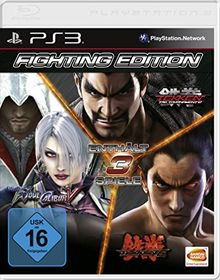 Fighting Edition (SoulCalibur V - Tekken 6 - Tekken Tag Tournament 2) [Software Pyramide]