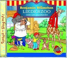 Benjamin Blümchen - Liederzoo: Lieder zum Gesundwerden
