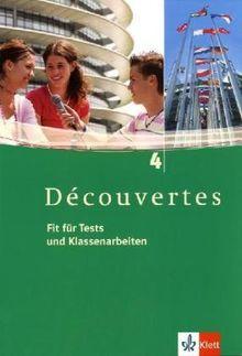 Découvertes 4. Fit für Tests und Klassenarbeiten. Arbeitsheft mit Lösungen und CD-ROM: Arbeitsheft mit Lösungen und CD-ROM - Band 4: TEIL 4