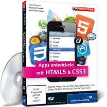 Apps entwickeln mit HTML5 und CSS3 - Für iPhone, iPad und Android