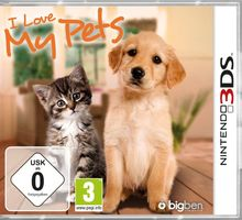 I Love My Pets [Software Pyramide] - [Nintendo 3DS]