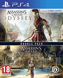 Assassins Creed Origins + Assassins Creed Odyssey – PS4
