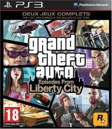 GTA IV - Episodes From Liberty City [PS3]