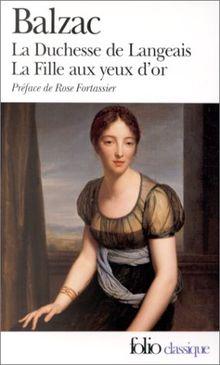La Duchesse de Langeais - La Fille aux yeux d'or (Folio (Domaine Public))