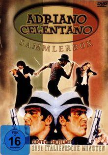 Adriano Celentano - DVD BOX mit 20 seiner populärsten Filme