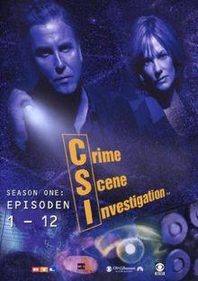 CSI: Crime Scene Investigation - Season 1.1 (Amaray) [3 DVDs]