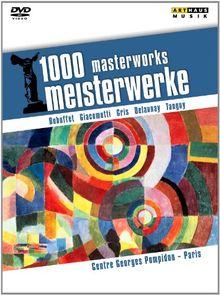 1000 Meisterwerke - Centre Georges Pompidou Paris