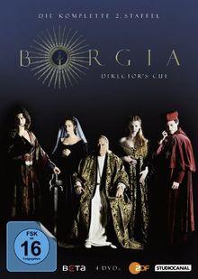 Borgia - Die komplette 2. Staffel (Director's Cut) [4 DVDs]