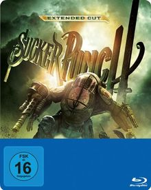 Sucker Punch (Extended Cut Steelbook) [Blu-ray] [Limited Edition]