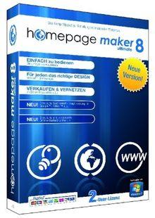 Homepage Maker 8 Ultimate