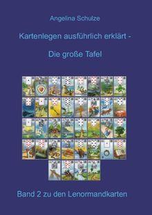 Kartenlegen ausführlich erklärt: Die grosse Tafel: Band 2 zu den Lenormandkarten