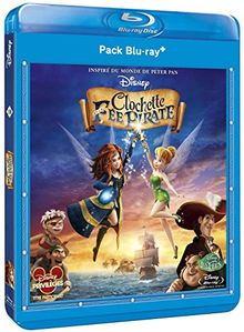 Coffret clochette et la fée pirate ; peter pan [Blu-ray]