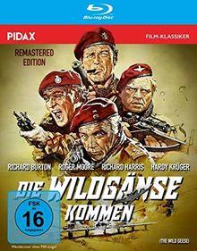 Die Wildgänse kommen - Remastered Edition (The Wild Geese) / Spektakuläre Söldner-Action mit Weltstarbesetzung in brillanter HD-Qualität (Pidax Film-Klassiker) [Blu-ray]