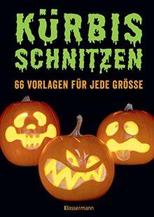 Kürbis schnitzen: 66 Anleitungen und Vorlagen für gruselige oder lustige Halloween-Gesichter