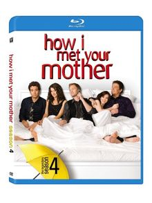 How I Met Your Mother: Season Four [Blu-ray] [Blu-ray] (2009) Radnor, Josh (japan import)
