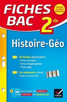 Fiches Bac: Histoire-Geographie 2de
