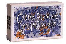 Cartes Blanches d'Inspiration - 80 Cartes