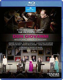 Mozart: Don Giovanni [Nikolaus Harnoncourt; Theater an der Wien, 2014] [Blu-ray]