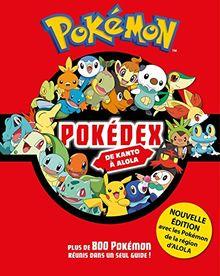 Pokédex Pokémon : De Kanto à Alola