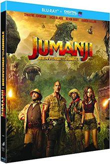 Jumanji 2 : bienvenue dans la jungle [Blu-ray] [FR Import]