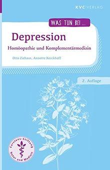 Depression: Homöopathie und Komplementärmedizin (Was tun bei)
