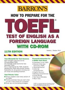 How to Prepare for the TOEFL. With CD-ROM. Test of English as a Foreign Language (Lernmaterialien) (Barron's TOEFL IBT (W/CD))