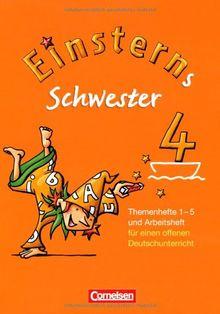 Einsterns Schwester - Sprache und Lesen: 4. Schuljahr - Themenhefte 1-5, Projektheft und Arbeitsheft im Schuber