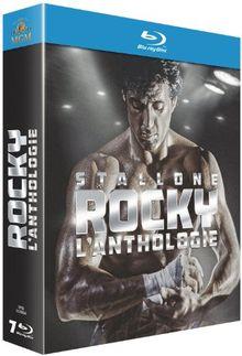 Coffret intégrale rocky : l'anthologie [Blu-ray] [FR Import]