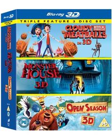 Cloudy with a Chance of Meatballs / Monster House / Open Season (2006) - Set [Blu-ray] [UK Import]