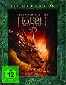 Der Hobbit: Smaugs Einöde Extended Edition [Blu-ray + Blu-ray 3D]