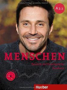 Menschen A2/1: Deutsch als Fremdsprache / Kursbuch mit DVD-ROM