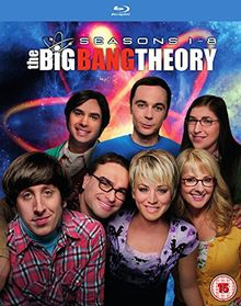 The Big Bang Theory - Seasons 1-8 [Blu-ray] [2015] [Uk-Import]