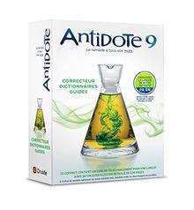 Antidote 9 - Correcteur Et Dictionnaires Pour Le Francais Ou L'Anglais Druide: Posologie Cuide d'Utilisation D'Antidote 9