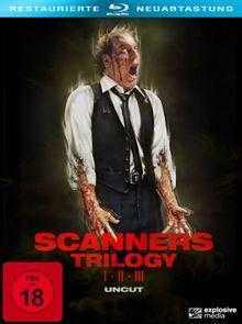 Scanners 1-3 (3-Disc Collector's Set) (Blu-ray uncut)