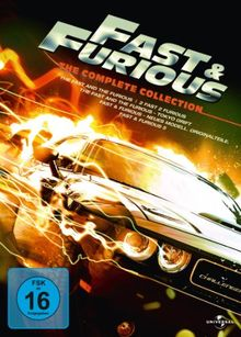 Fast & Furious - The Complete Collection [5 DVDs]
