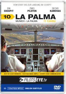 "PilotsEYE.tv | LA PALMA | Cockpitmitflug A320 | CONDOR Berlin | ""Airial Island"" | Bonus: Helicopter Island Tour hosted by CoPilot Patricia"
