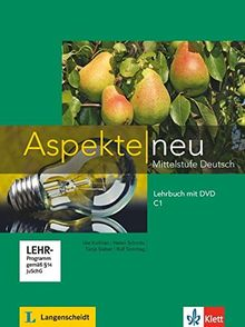 Aspekte neu C1: Lehrbuch mit DVD