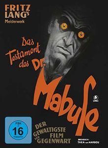Das Testament des Dr. Mabuse (restaurierte Fassung, limitiertes Mediabook, + DVD) [Blu-ray]