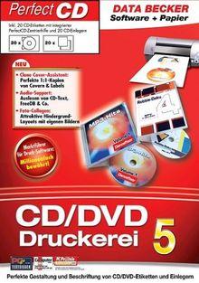 CD-DVD-Druckerei 5 mit Papier