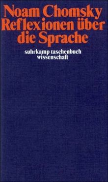 Suhrkamp Taschenbuch Wissenschaft Nr. 185: Reflexionen über die Sprache