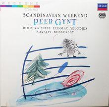 Scandinavian Weekend - Edvard Grieg : Peer Gynt - Holberg Suite - Elegiac Melodies - Vinyl Dmm [Vinyl LP]