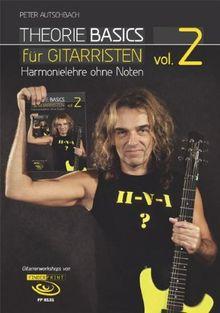 Theorie Basics für Gitarristen Vol.2: Harmonielehre ohne Noten, inkl. DVD