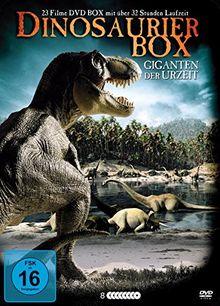Dinosaurier Box - Giganten der Urzeit (8 DVDs in Metallbox)