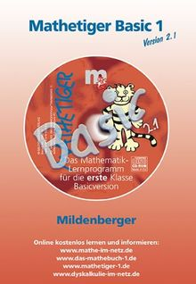 Mathetiger Basic 1 Version 2.1. CD-ROM. Bayern