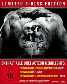 The Expendables Trilogy - Steelbook/Uncut [Blu-ray] [Limited Edition]
