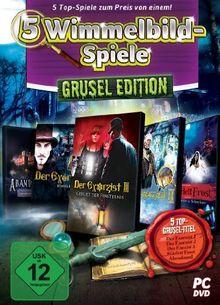 5 Wimmelbild-Spiele - Grusel-Edition