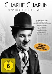 Charlie Chaplin - Slapstick Collection Vol. 1 (9 Kurzfilme auf 1 DVD)