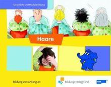 """Paket 2 """"Die Welt ist elefantastisch Sprachförderung mit dem Elefanten"""" mit den Themen: Füße&Schuhe, Sehen und Haare aus dem Themenfeld: """" mein ... dem Elefanten"""" Bilderbuch Haare Bilderbuch"""