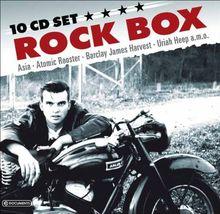 Rock Box-10 CD Wallet Box